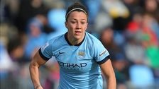 Lucy Bronze makes her Manchester City debut