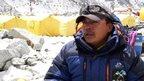 Gurkha at Everest basecamp