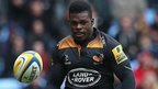 Christian Wade of Wasps in action