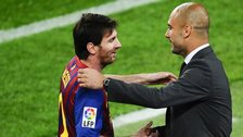 Pep Guardiola_Lionel Messi