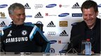 VIDEO: Mourinho plays press officer prank
