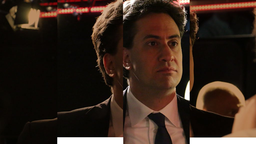 Ed Miliband in the Live Lounge