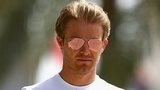 Nico Rosberg prepares for the Bahrain F1