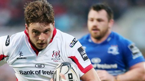 Iain Henderson scored Ulster's first try