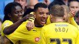 Watford goal