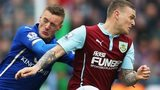 Jamie Vardy and Kieran Trippier