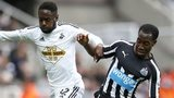 Nathan Dyer and Vernon Anita