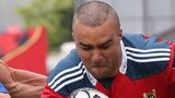Simon Zebo was among Munster's try-scorers at Musgrave Park