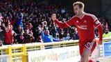 Aberdeen striker Niall McGinn