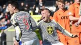 St Mirren players celebrating