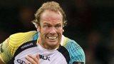 Ospreys captain Alun Wyn Jones takes on Blues