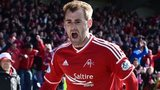 Aberdeen match winner Niall McGinn