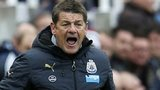 Newcastle boss John Carver