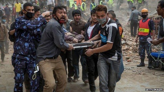 Nepal earthquake: Rescue effort intensifies