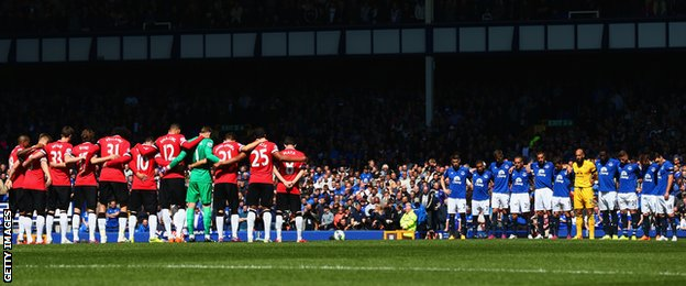 Minute's silence at Goodison
