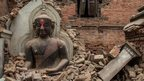 Nepal's architectural jewels destroyed
