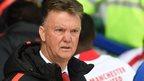 United warm-up worried me - Van Gaal