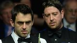 Ronnie O'Sullivan and Matthew Stevens