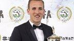 Who celebrated PFA award success?