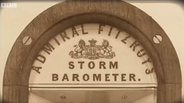 Admiral FitzRoy's Storm Barometer