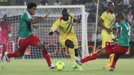 Ethiopia in action against Mali