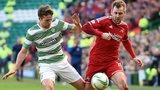 Celtic's Adam Matthews (left) and Aberdeen's Niall McGinn