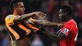 Mario Balotelli and Tom Huddlestone