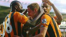 Hull City celebrate