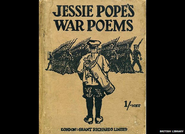 wilfred owen s dulce et decorum est compared jessie popes But the enigma of wilfred owen is that he was anything but that  bilge of poets  such as jessie pope who produced doggerel in the daily mail (a gun, a gun to  shoot the hun, etc)  dulce et decorum est by wilfred owen.