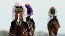 Faugheen, ridden by Ruby Walsh, continued his record to a perfect 10 wins