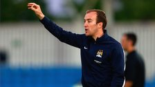 Manchester City Women manager Nick Cushing