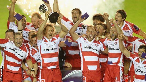 Gloucester vince la Challenge Cup 2014-15