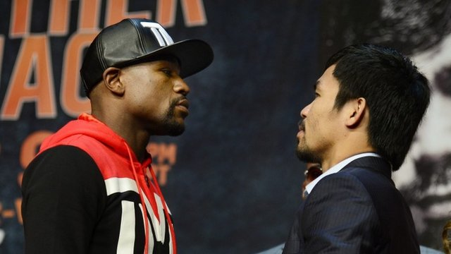 VIDEO: Vegas set for 'fight of the century'...