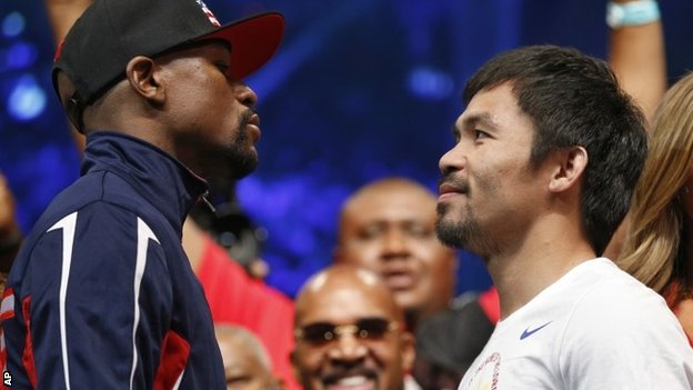 Boxing: Floyd Mayweather v Manny Pacquiao - Watch Online Full Fight Replay. (03.05.2015)
