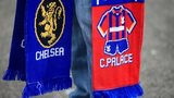 A Chelsea and Palace half-and-half-scarf