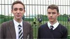 School Reporters Josh and Jack