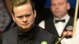 Shaun Murphy at the table in the final match against Stuart Bingham