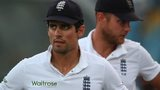 England captain Alastair Cook after the defeat in Barbados
