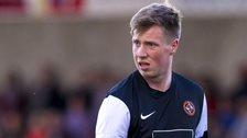 Dundee United striker Jordan Moore