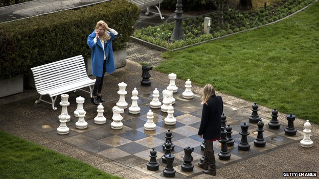 BBC News - Has chess got anything to do with war?