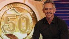 BBC Match of the Day presenter Gary Lineker