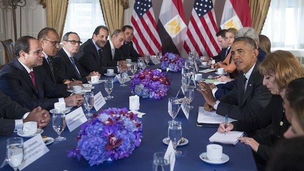 Meeting between President Obama and General Sisi