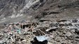 A general view of the devastation in Langtang village, Nepal,