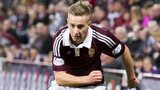 Hearts winger Billy King