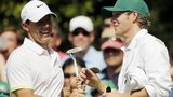 Rory McIlroy with One Direction's Niall Horan at last month's Masters Par-three event