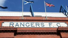 Ibrox Stadium. home of Rangers FC