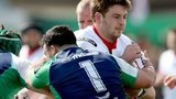 Ulster's Iain Henderson in action in recent inter-pro against Connacht
