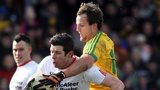 Donegal's Michael Murphy and Tyrone's Sean Cavanagh will do battle in Ballybofey in the Ulster SFC opener on 17 May