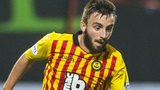 Partick Thistle forward Steven Lawless
