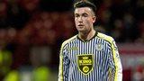St Mirren midfielder Stephen Mallan